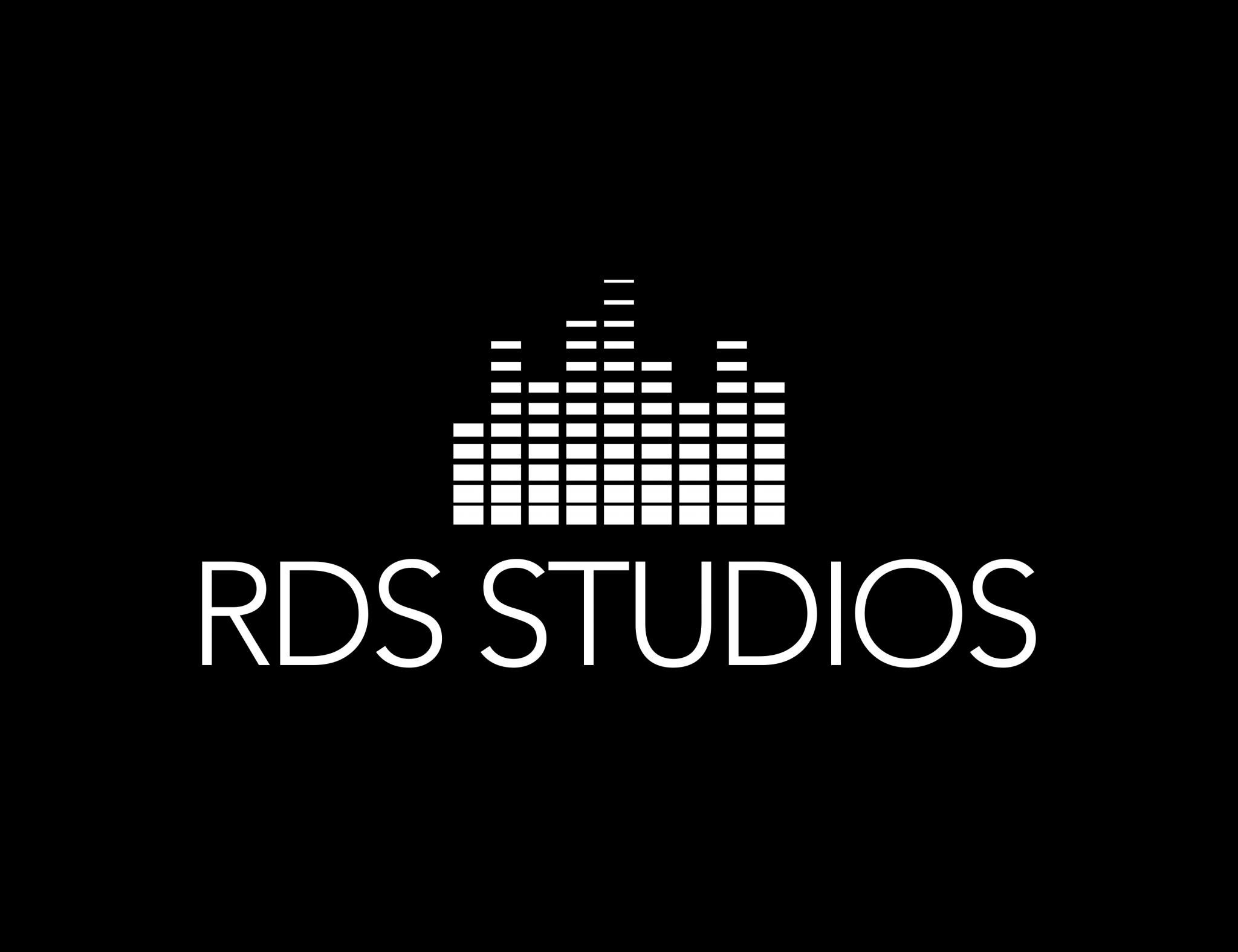 Rds Studios Logo Music Studio Brand Wave Lengths Acronym