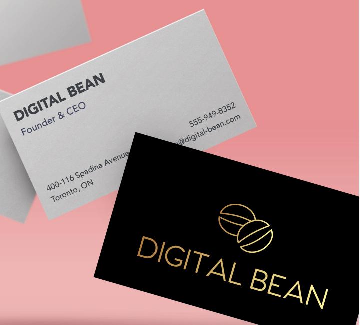Db business cards logojoy db business cards reheart Choice Image