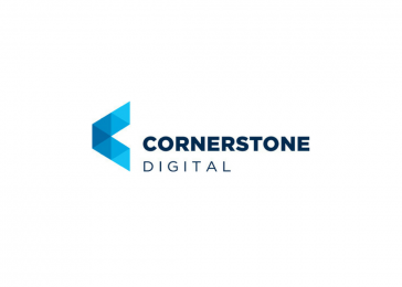 Cornerstone Digital logo design