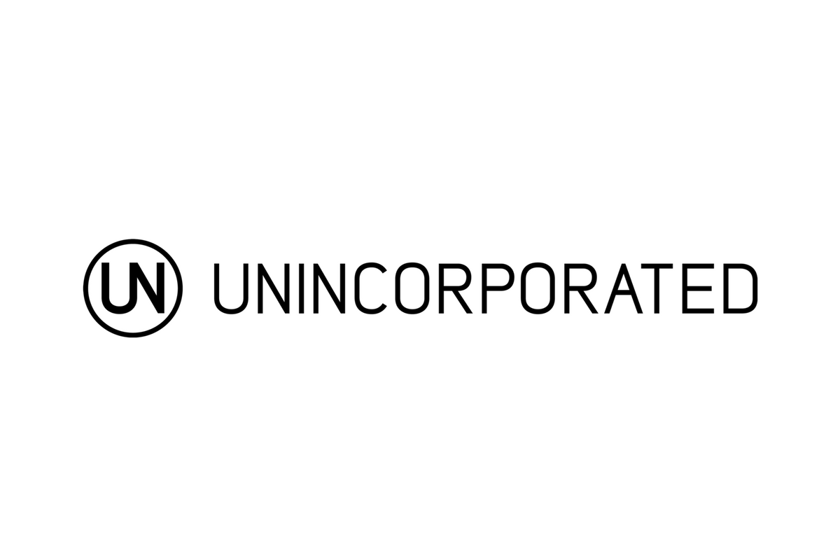 Unincorporated logo design