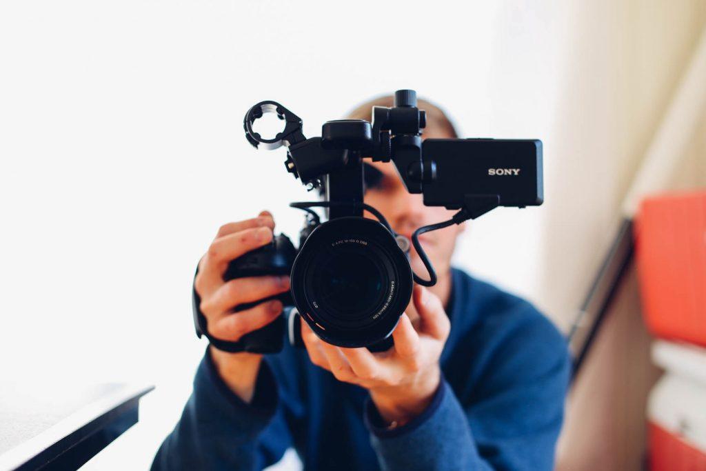 Camera man image