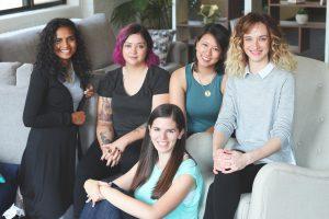 Women in leadership at Logojoy