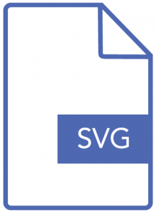 SVG logo format