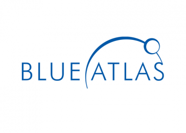 Blue Atlas Logo Design