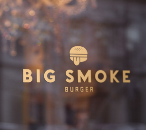 Big Smoke Burger Logo design