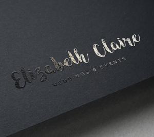 Elizabeth claire logo design