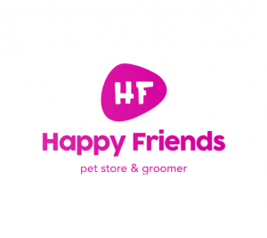 happy friends logo design