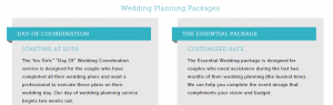 Package pricing example