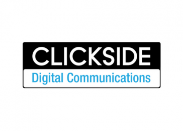 Clickside Digital Communications logo design