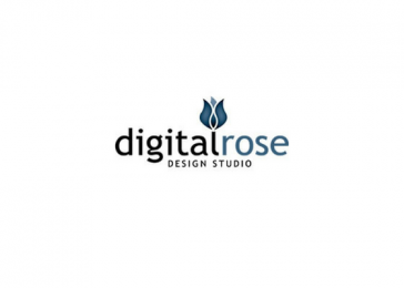 Digital Rose Logo Design