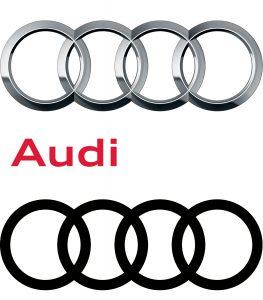 Audi logo redesign 2017