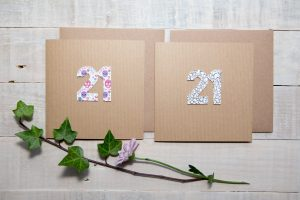 Handmade greeting card logos