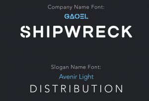 Brand guidelines font names