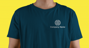Logo on a t-shirt