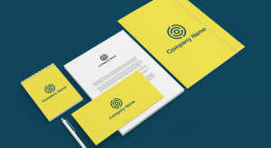 Logo on stationery and letterheads