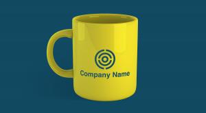 Logo on a mug