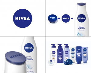 Nivea circle logo design