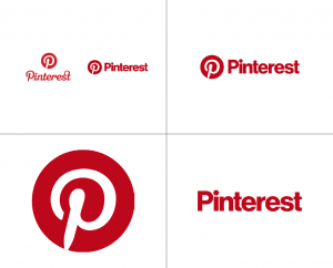 Pinterest circle logo design