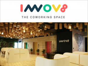 Innov8 coworking space logo