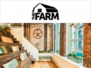The Farm coworking space logo