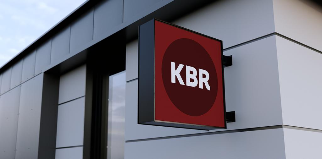 KBR circle logo
