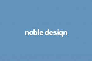 Noble Design wordmark logo.