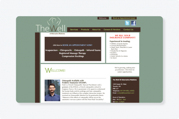 The Well website logo