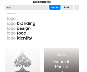 Designspiration logo design