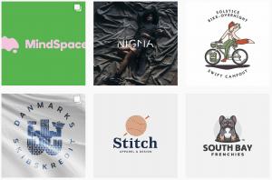 logos.ai instagram feed logo inspiration