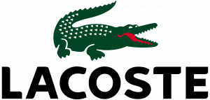Lacoste animal logo design