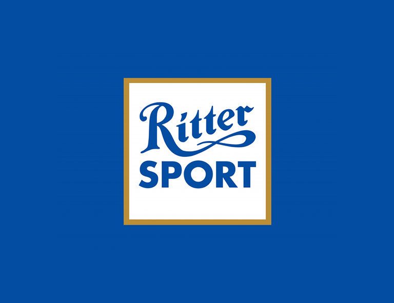 Food logo design - Ritter Sport