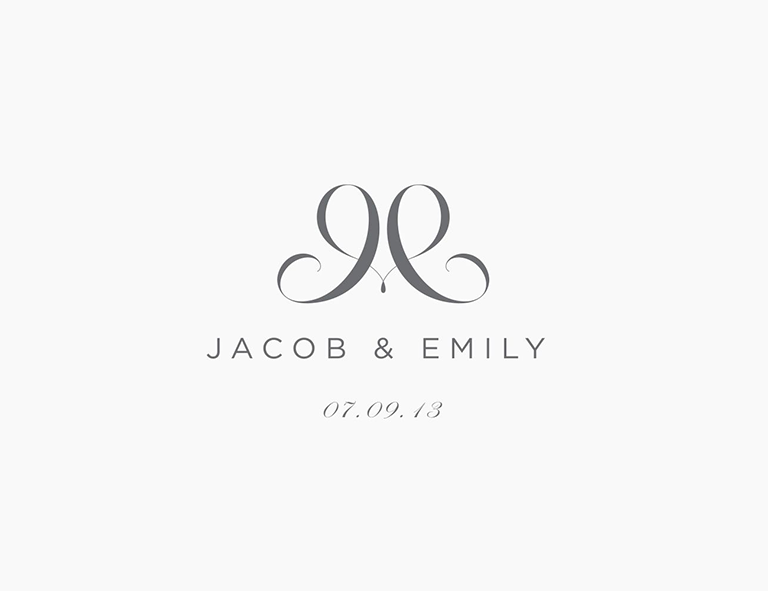 Make Your Own Wedding Logo