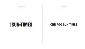 Chicago Sun-Times logo redesign