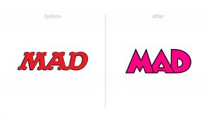 Mad Magazine logo redesign