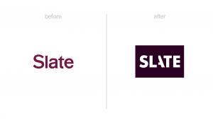 Slate logo redesign