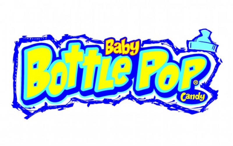 Bottle Pop candy logo from the 90s.