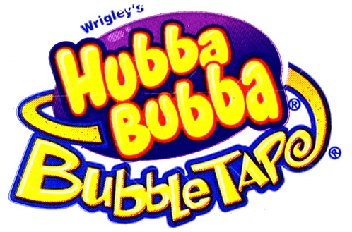 Hubba Bubba Bubble Tape logo from the 90s.