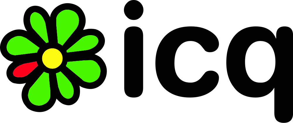 ICQ logo from the 90s.