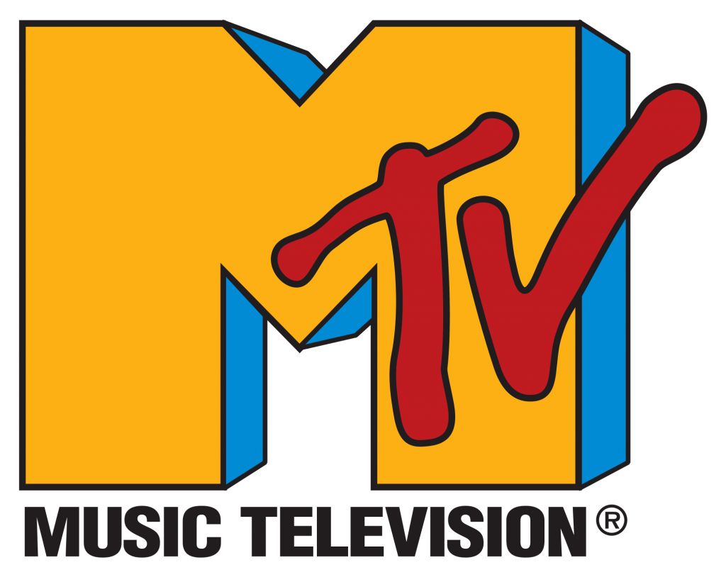 MTV logo from the 1990s.