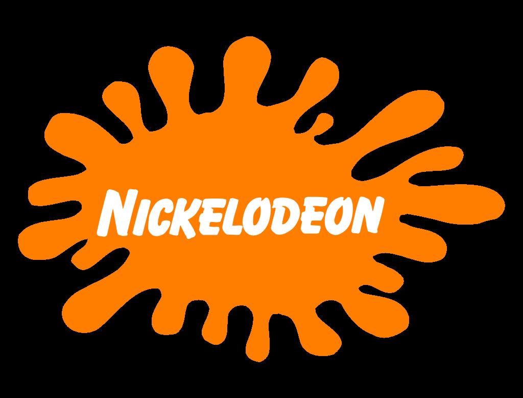 Orange Nickelodeon logo from the 90s.