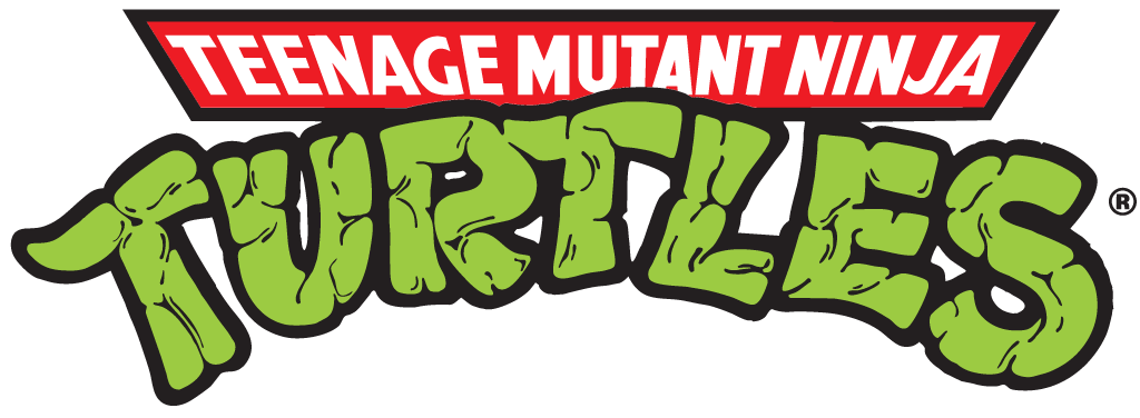 Teenage Mutant Ninja Turtles logo from the 90s.