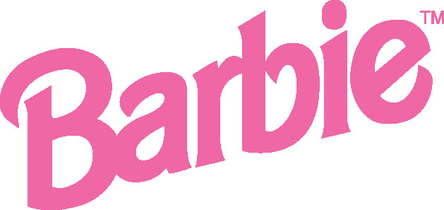 Barbie logo from the 90s.