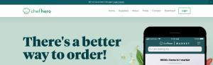 Chefhero website logo example