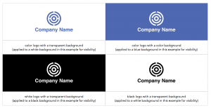 Logo color variations