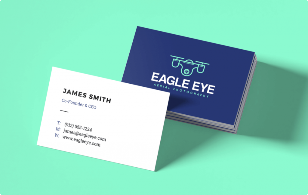 logo maker business card template