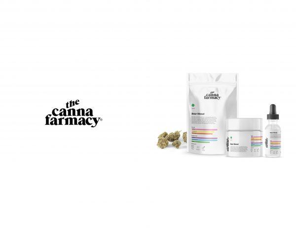 Canna Farmacy cannabis logo concept