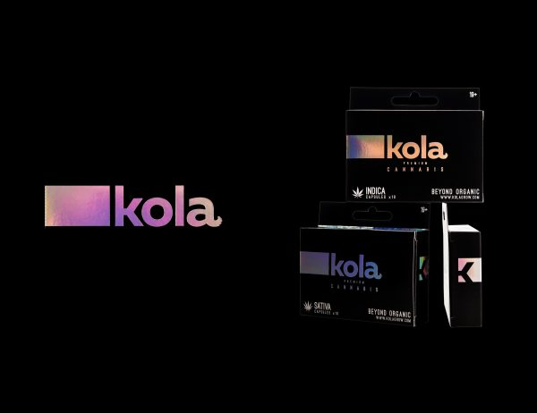 Kola cannabis logo design