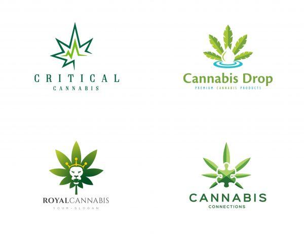 Cliche cannabis logos