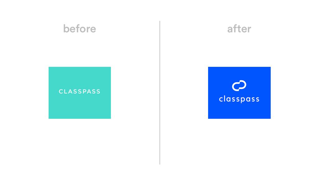 ClassPass logo redesign