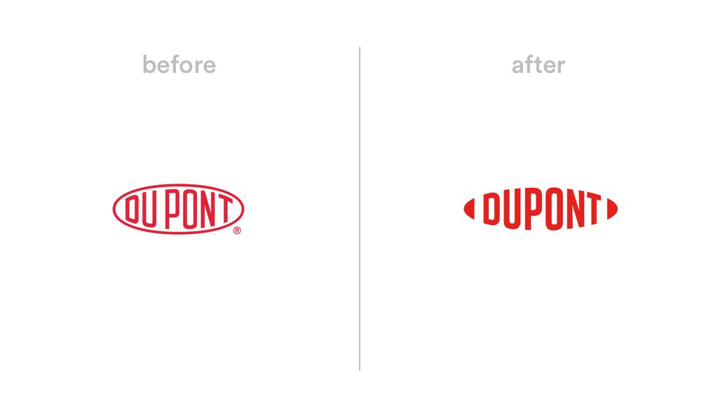 Dupont logo redesign